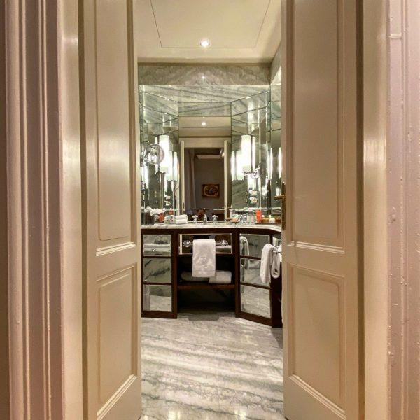 Il bagno en suite al Grand Hotel Tremezzo