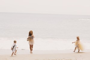 Wallace Family; Laguana Beach; family fun; five kids; One Glass Slipper; chasing the waves