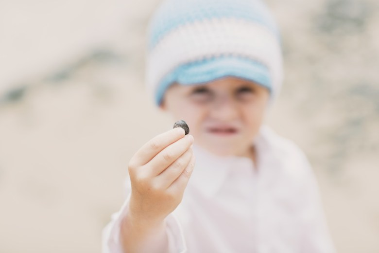 Wallace Family; snail finding