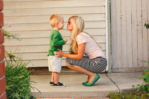 meg and son | meg Marie Wallace | featured style post