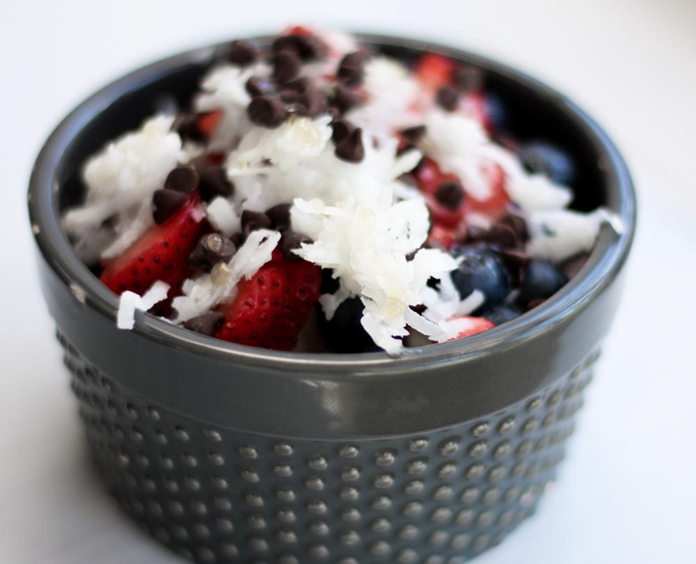 Protein Acai Fruit Bowls
