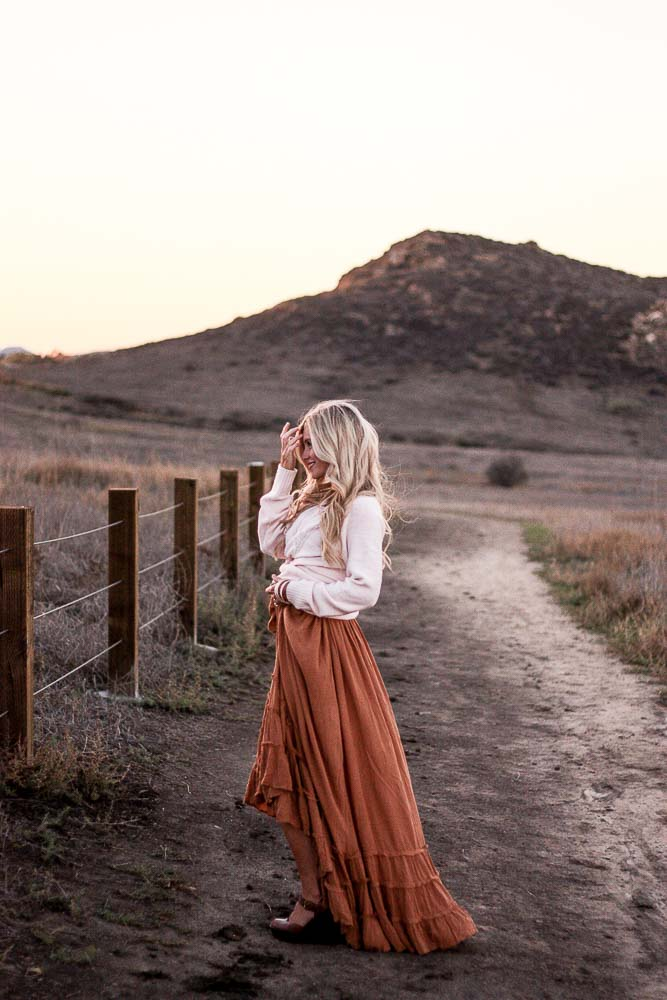 meg marie| free people dress and sweater from walmart; mixing and matching name brand with inexpensive