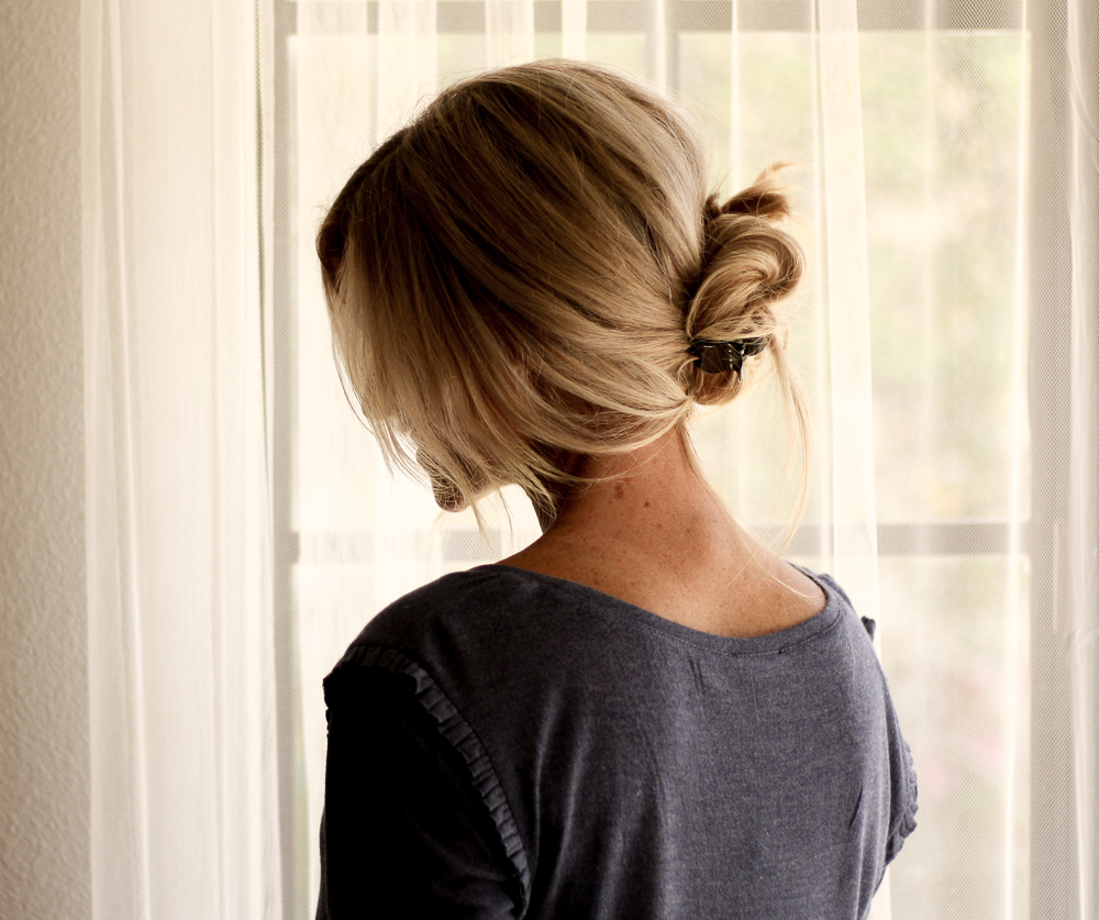 "the ""marie"" updo by meg marie wallace; easy 3 step updo"