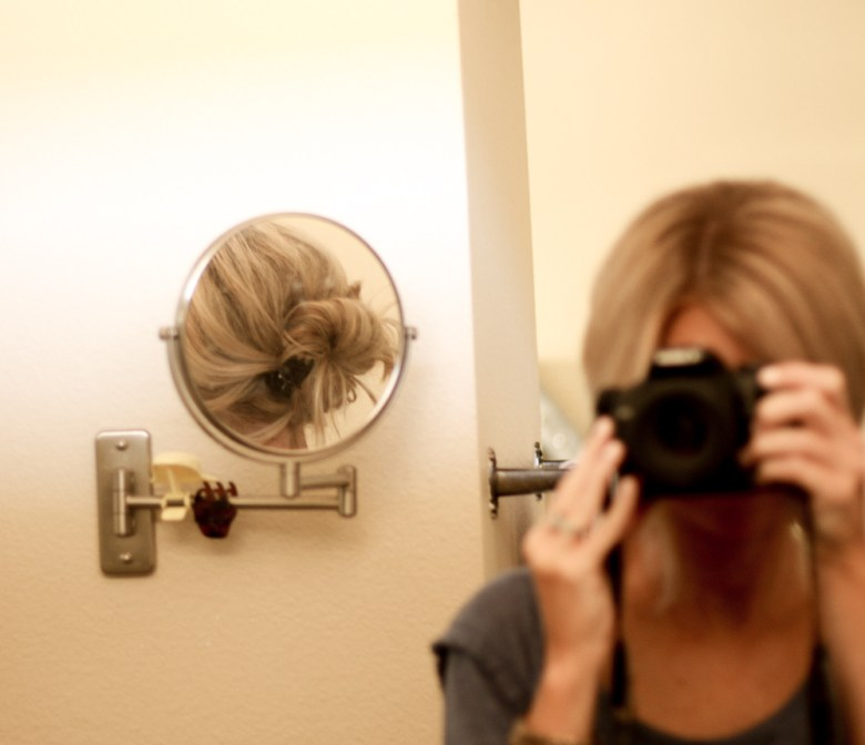 """the """"marie"""" updo by meg marie wallace; easy 3 step updo"""