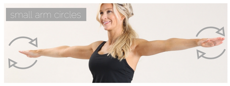 meg marie fitness | small arm circles