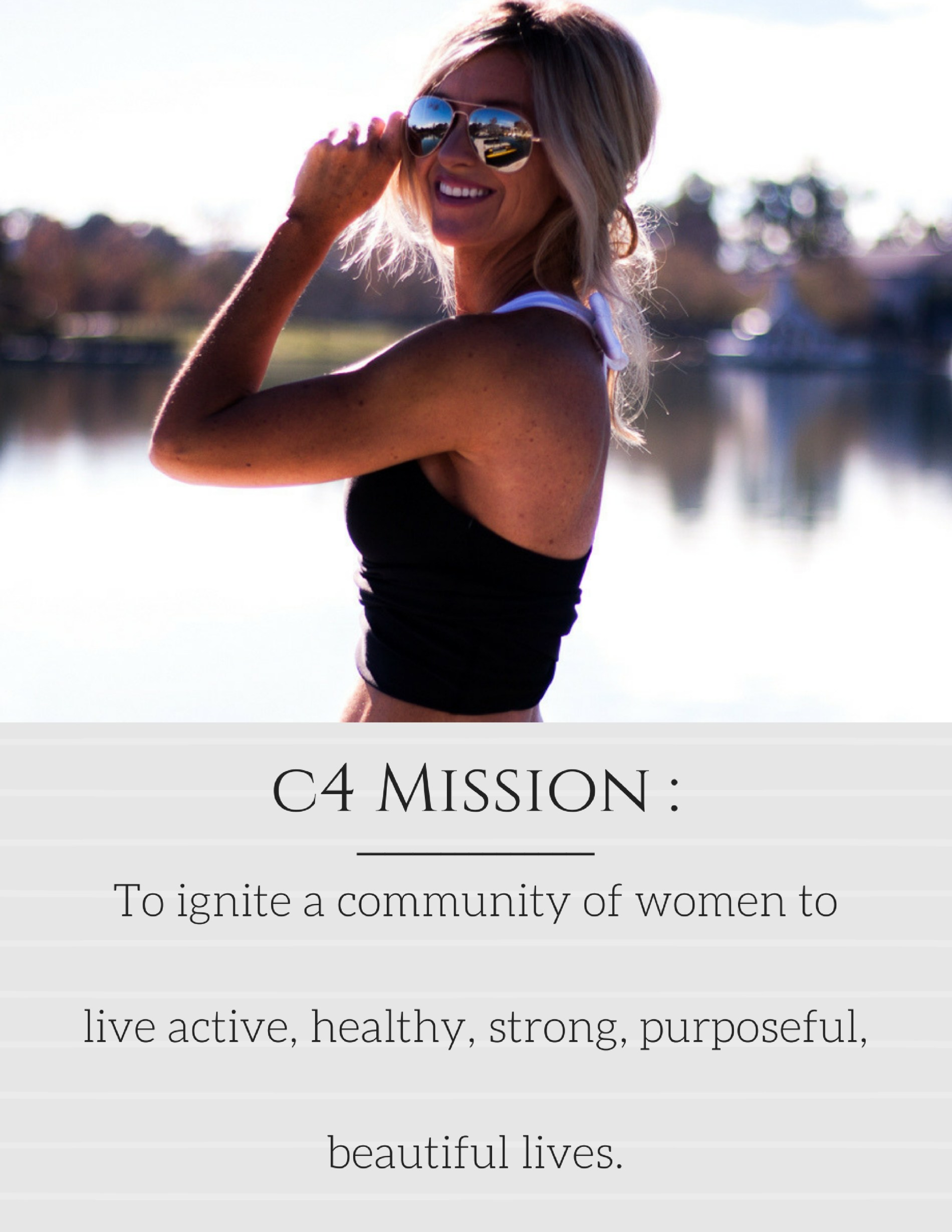 Meg Marie Fitness mission statement