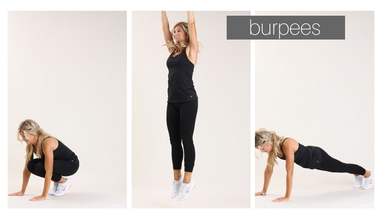 burpees | meg marie fitness | fit for a purpose | 12 week fitness plan