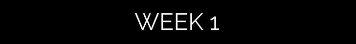 meg marie fitness | week 1 | free fitness guide