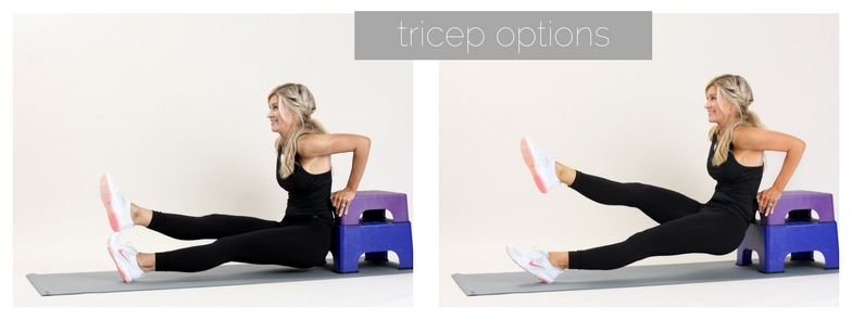 tricep options