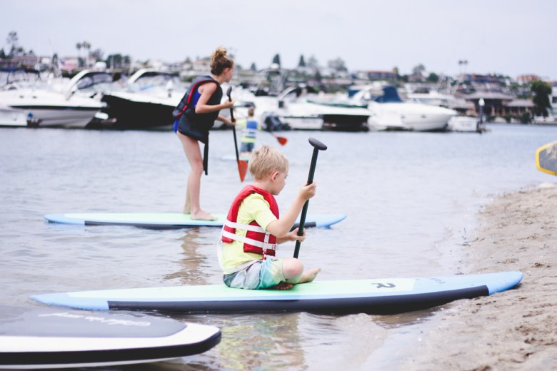 pirate coast paddle boarding | summer fun | orange county summer camps