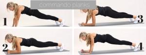 commando planks