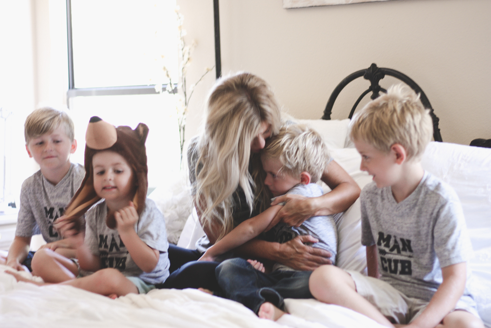 mama bear and man cubs | meg marie wallace