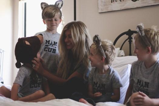 mama bear and man cubs | meg marie wallace
