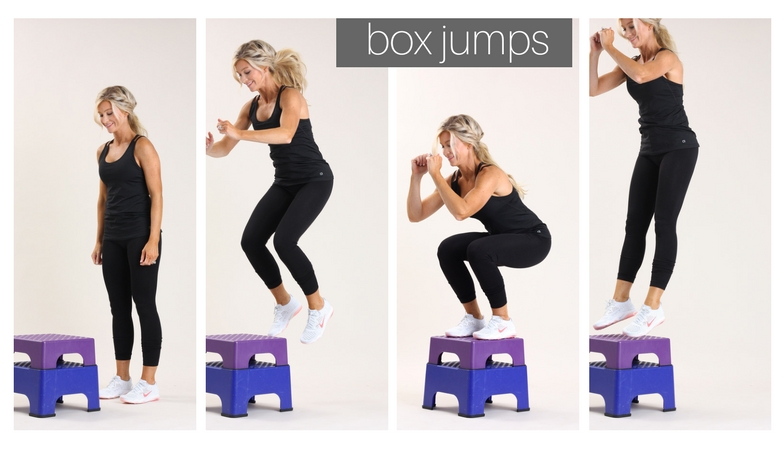 box jumps | meg marie fitness | fit for a purpose | 12 week fitness plan