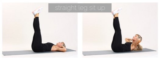 straight leg sit up |week 10 | meg marie fitness | fit for a purpose