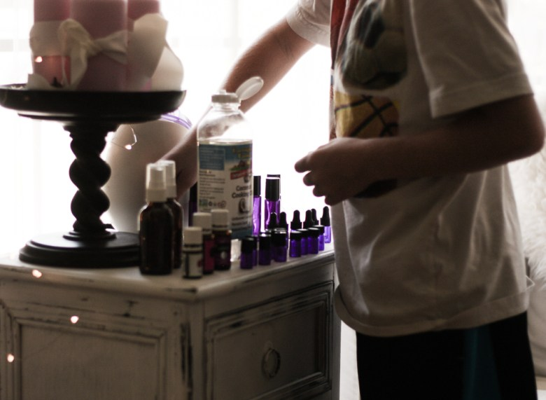 oil supplies | meg marie Wallace | essential oil supplies | making roller bottles | Young Living