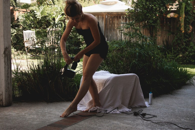 at home tanning | meg marie wallace