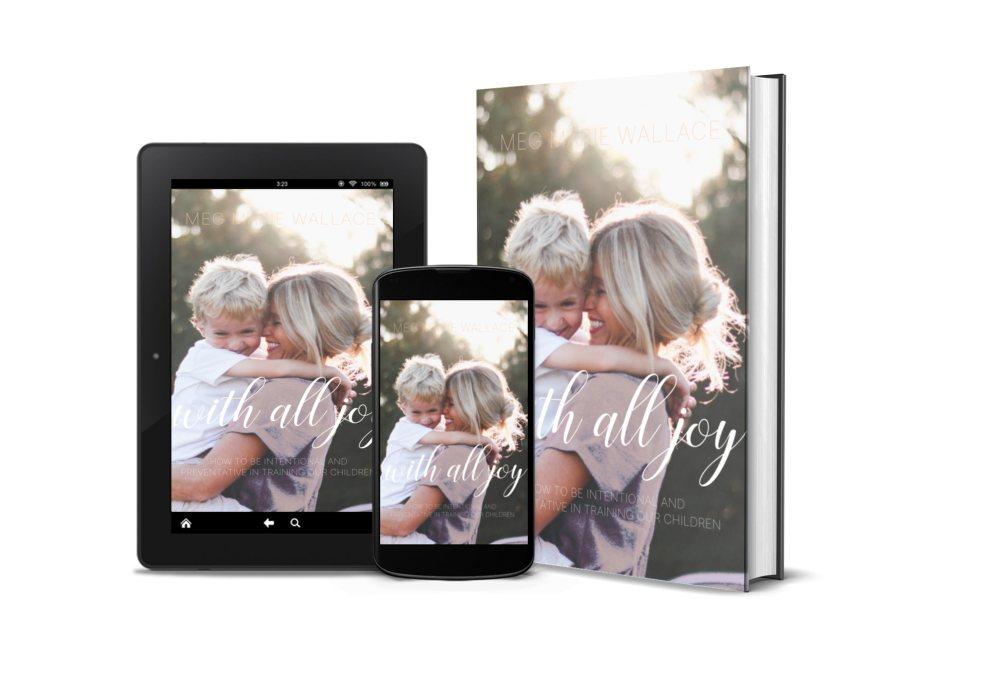 with all joy ebook   meg Marie Wallace   parenting ebook