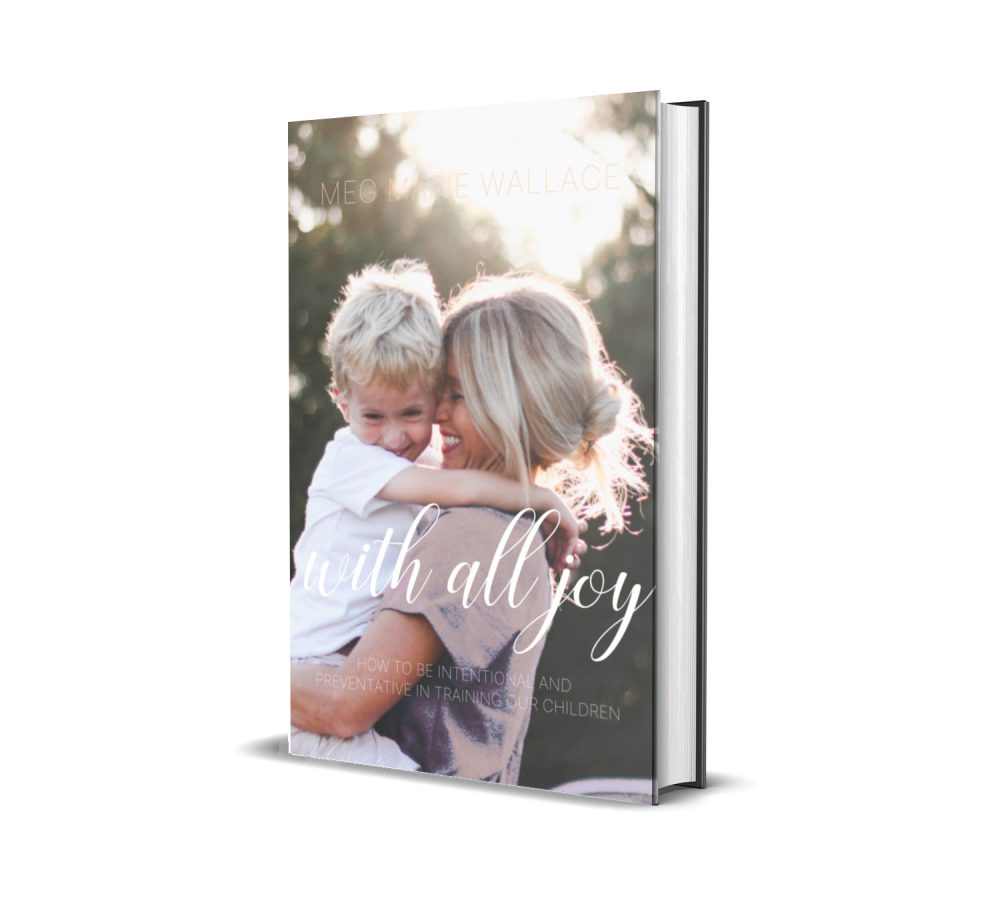 with all joy soft back   meg Marie Wallace   parenting ebook