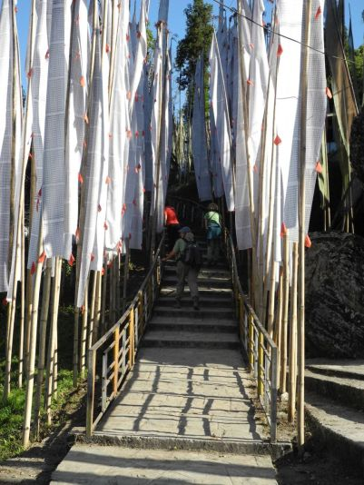 Walkway at the temple