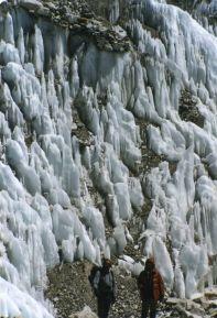 Khumba ice fields