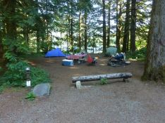 Baker Lake camp