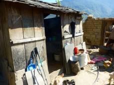 Small kitchen hut