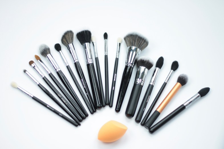 morphe and sigma makeup brushes