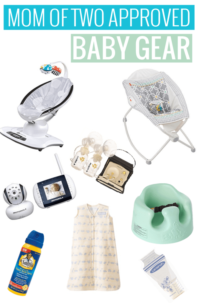 Mom of Two Approved Baby Gear - great list of must haves