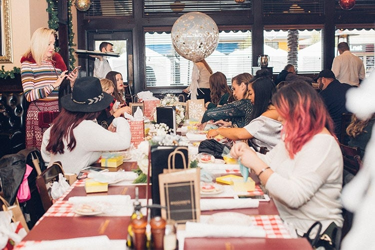 Blogger brunch at Maggiano's Baybrook