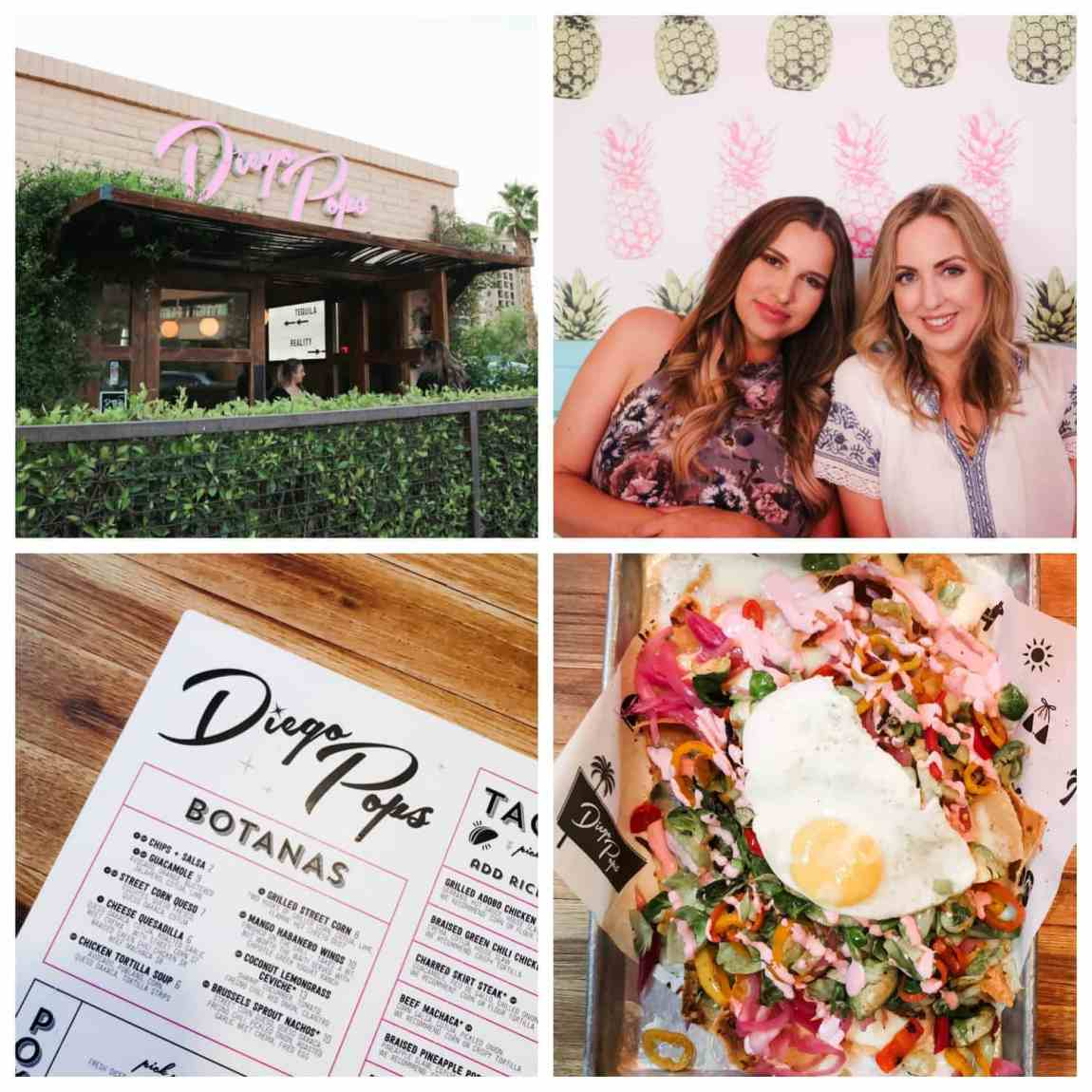Diego Pops in Old Town Scottsdale - as seen in Scottsdale weekend girls trip travel guide by Meg O. on the Go