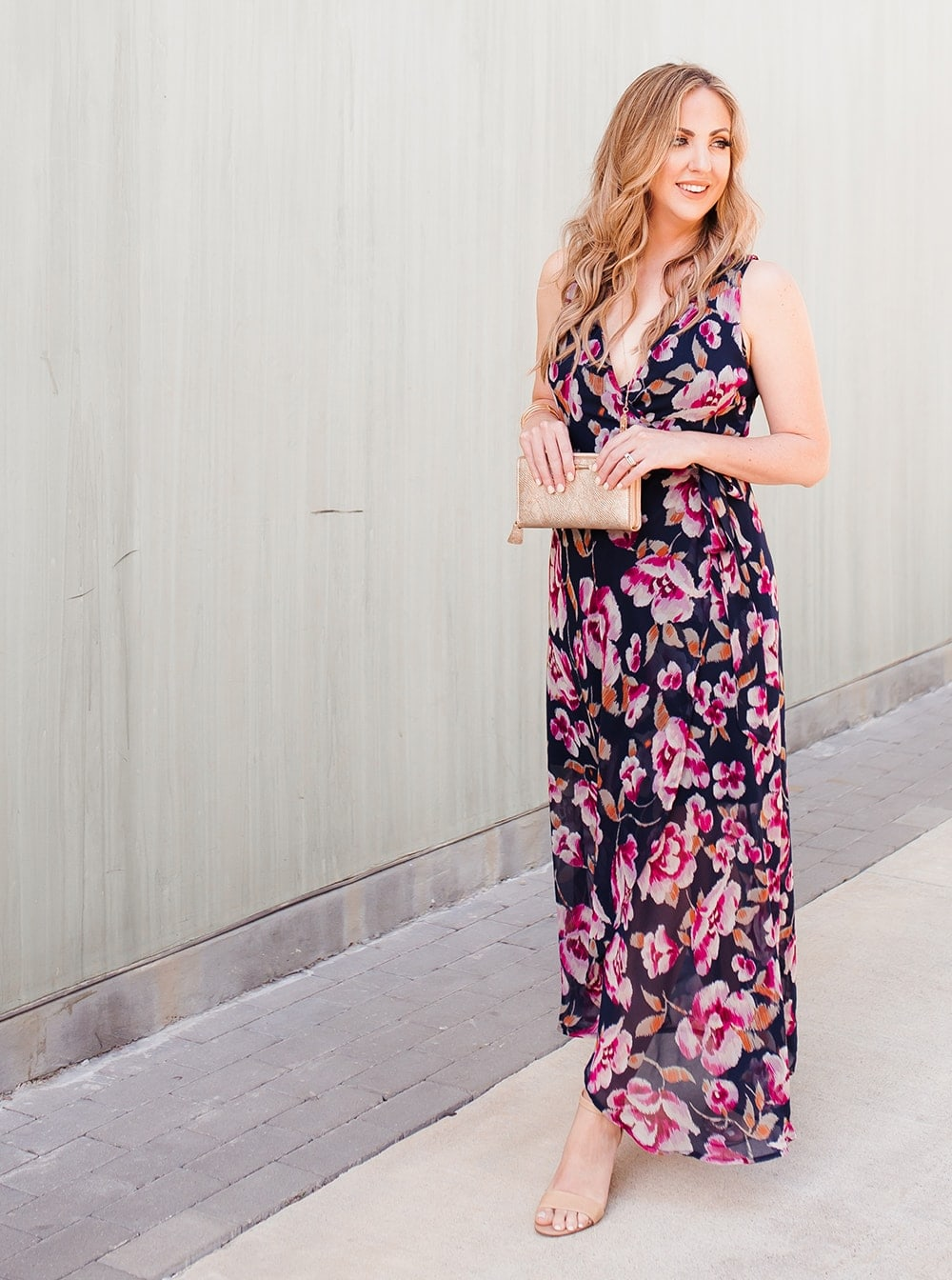 Houston lifestyle blogger Meg O. on the Go shares 3 perfect outfits for summer - a wrap dress needs to be a closet staple!