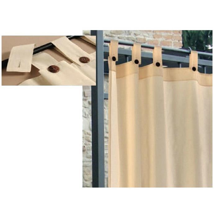 tende da esterno per gazebo > Tenda Da Sole Per Gazebo A Bretelle 160x270cm Colore Panna Per Esterno Ebay