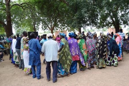 Activité-réjouissance-ouverture-travaux-organisation-déclareation-publique-TOSTAN-Koulikoro-Chôla