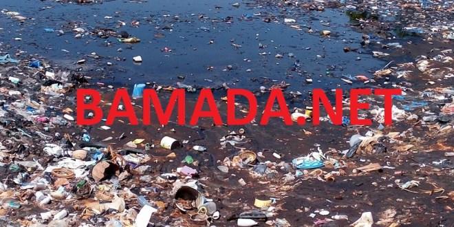 fleuve-niger-koulikoro-changement-climatique-ordure-dechet