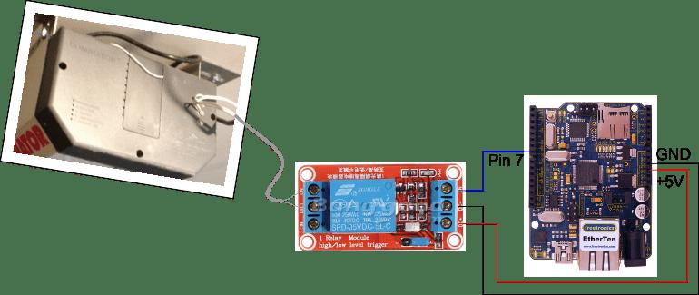 Build A Web Enabled Arduino Garage Door Opener