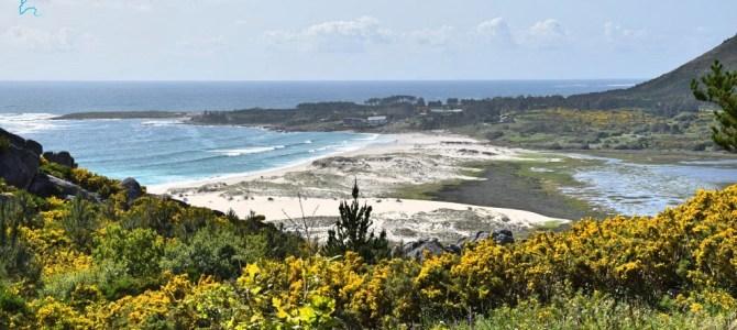 Playa de Area Maior y monte Louro (Muros), un capricho de la naturaleza