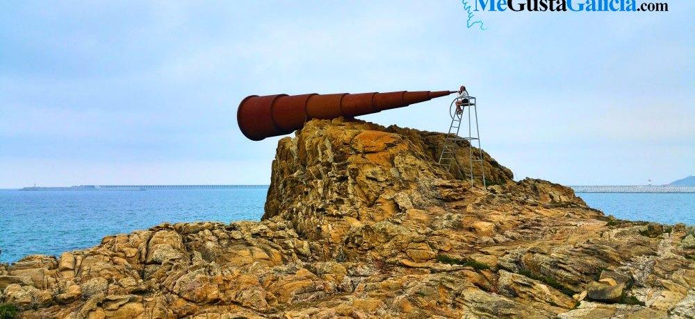 """Ojo, que en Galicia tenemos el """"Monumento al Voyeur"""""""