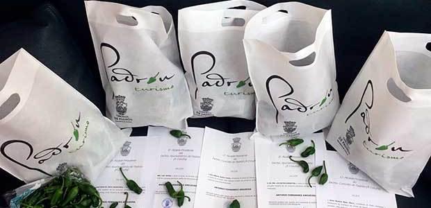 O Concello de Padrón promociona os pementos con envíos ás principais autoridades do país