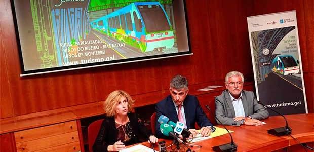 Los trenes turísticos de Galicia contarán con nuevas rutas en otoño