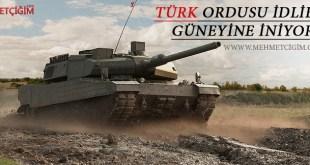 Türk ordusu İdlib'te