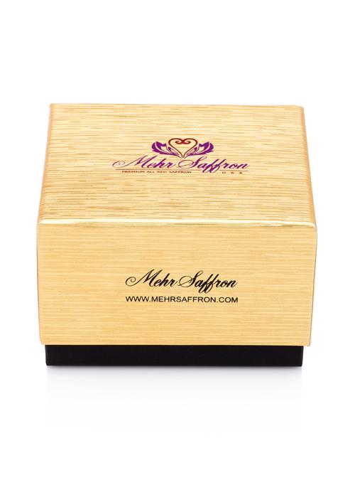Mehr Saffron Luxury Golden Box 3a