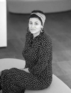 Portrait by Sueraya Shaheen