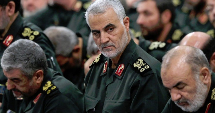 Iran Vows Revenge against Islamic State, U.S. after I.R.G ...