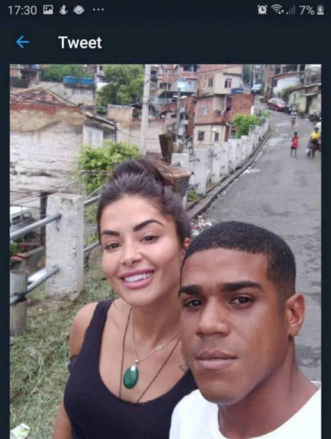Aline Riscado e Diogo Carvalho