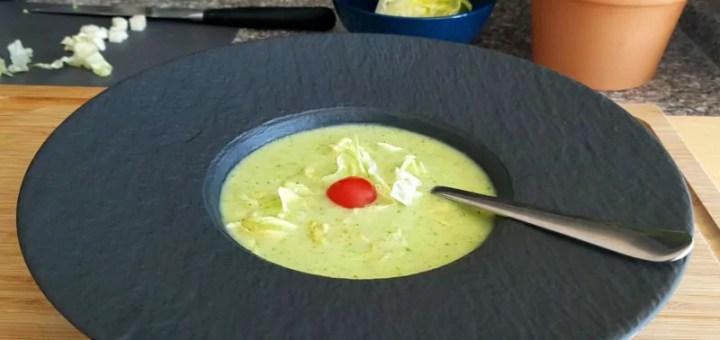 Kopfsalat Suppe