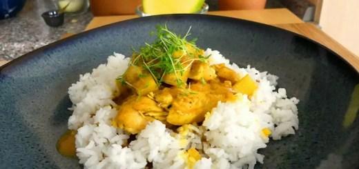 Hähnchen Curry mit Mango