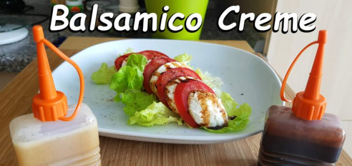 Balsamico Creme Rezept
