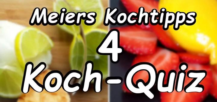 Meiers Koch Quiz Nummer 4
