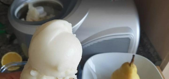 Birnensorbet selber machen aus frischen Birnen